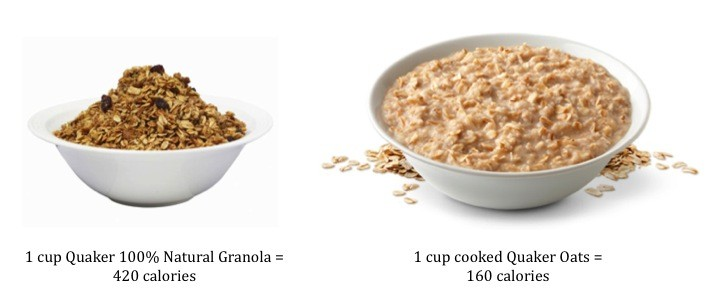 What We Eat: Oatmeal v Granola